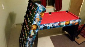 Multiple game table in Joliet, Illinois