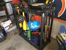 Sports Organizer / Bat Rack in Lockport, Illinois