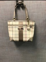 Plaid Coach Purse in Warner Robins, Georgia