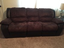 Double reclining couch in Lawton, Oklahoma