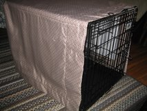 Wire Dog Cage with Cover in Naperville, Illinois
