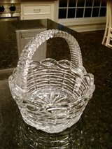 Clear Glass Basket - Great for Easter Decor in Westmont, Illinois
