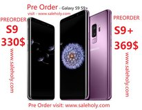 Pre order Samsung Galaxy S9 and Galaxy S9+ Plus in Fort Hood, Texas
