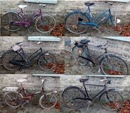 Job lot of 6 Vintage bikes (Mostly Rayleigh & a Hercules) in Lakenheath, UK