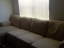 Washable feather couch in Fort Carson, Colorado