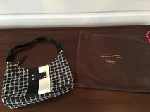 LIKE NEW Kate Spade Purse - Small Black and White in Bolingbrook, Illinois