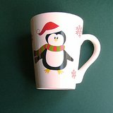 PENGUIN CHRISTMAS HOLIDAY MUG in Aurora, Illinois