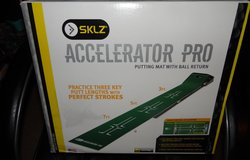 SKLZ  Accelerator Pro Putting Mat with Golf Ball Return ~ NEW in The Woodlands, Texas