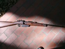 1941 ww2 Italian sniper rifle in MacDill AFB, FL