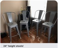 24' counter height chairs in Lockport, Illinois