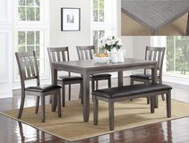 BRAND NEW! QUALITY URBAN WOOD DINING / DINETTE SET WITH BENCH! in Camp Pendleton, California