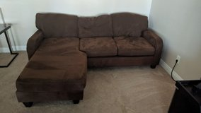 Brown sectional couch in Las Vegas, Nevada
