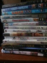 Assortment DVDs in 29 Palms, California