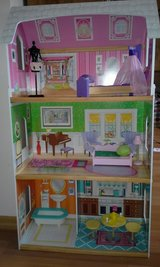 Doll house for Barbie dolls in Oswego, Illinois