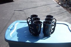 UNUSUAL SHAPPED COFFEE CUPS. 6 PCS. in St. Charles, Illinois