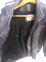 xl black leather coat in Yucca Valley, California