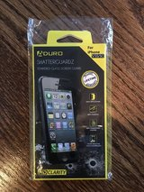 NEW Aduro Shatterguardz Tempered Glass Screen Protector iPhone 5/5S/5C in Joliet, Illinois