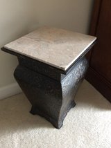 Accent table/Umbrella stand in Oswego, Illinois