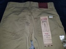 Boy's VANS Khakis/Jeans size 10 - new with tags in Fairfield, California