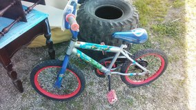 Frozen Bike in Fort Polk, Louisiana