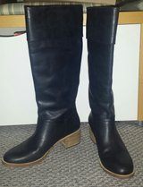 New!  Womens Shoes - UGG Tall Leather Boots - Carlin in Lockport, Illinois