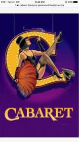 Cabaret at the Paramount theater Aurora in Chicago, Illinois