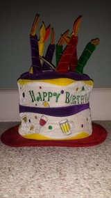 New with Tags!  Happy Birthday Hat in Naperville, Illinois