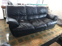 FREE Leather Couch for Free in Spangdahlem, Germany