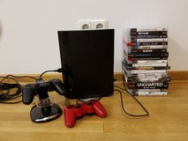 Selling PS3, 22 games + accessories in Ramstein, Germany