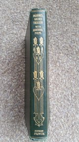 1910 - Palgraves Golden Treasury, With Additional Poems, Antique Henry Frowde in Lakenheath, UK