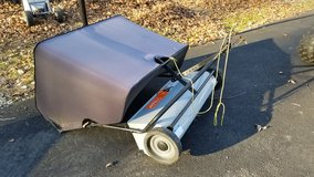 "AllFit 42"" leaf catcher lawn sweeper (purchased fall 2016) in Quantico, Virginia"