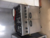 Catering Gas Oven, Griddle and  Deep Fryers, commercial in Lakenheath, UK