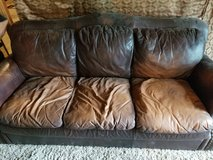 Used leather couch in Spring, Texas