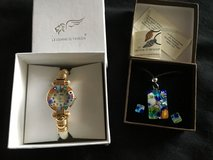Murano Glass jewelry from Venice Watch, ring, necklaces, earrings in Stuttgart, GE