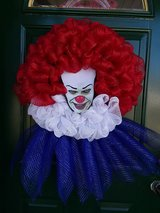 Pennywise Mesh Wreath in Plainfield, Illinois
