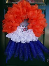 Pennywise Mesh Wreath #2 in Plainfield, Illinois
