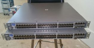 HP ProCurve 2848 J4904A 48-Ports Rack-Mountable Ethernet Switch Gigabit in Fort Carson, Colorado