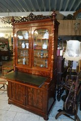 Special Biedermeier style secretary desk in Spangdahlem, Germany