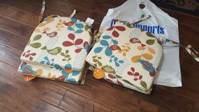 Pier 1 Patio Cushions (4) in Fort Campbell, Kentucky