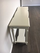 sofa table/ entryway table. finished in white . Really nice in Chicago, Illinois