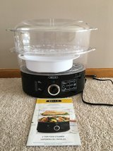 Bella 2 Tier Steamer/Rice Cooker in Oswego, Illinois