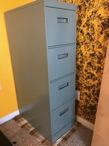 4-Drawer File Cabinet with Office Supplies in Wilmington, North Carolina