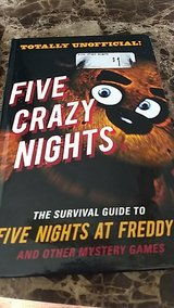 five nights at freddys hand book! in Fort Knox, Kentucky