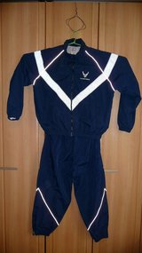 Air Force PT Running Suit.... Jacket and Pants in Okinawa, Japan