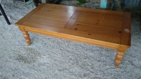 Large Wood Coffee Table in Fort Polk, Louisiana