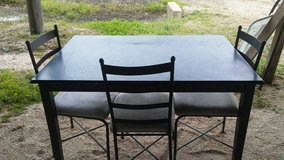 Dining Table with 3 Chairs in Fort Polk, Louisiana