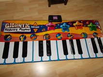 Gigantic Keyboard Playmat Excellent condition hardly used in Lakenheath, UK