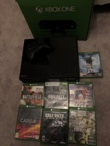 Xbox one 500gb with games in Lakenheath, UK