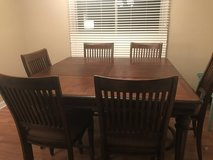 Solid Wood Table Set For 6 in Naperville, Illinois