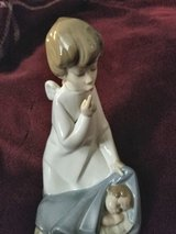 Lladro Angel over baby in Tinley Park, Illinois